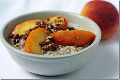 peaches and cream oatmeal recipe
