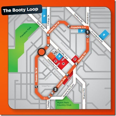 the booty loop charlotte nc