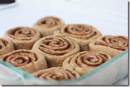 whole wheat cinnamon rolls