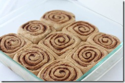 recipe for healthy cinnamon buns