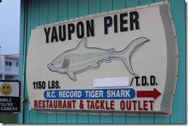 yaupon pier oak island nc
