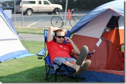 set up tent