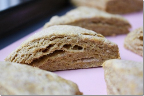 fluffy homemade scones
