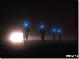 hood to coast at night