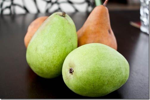 pear recipe