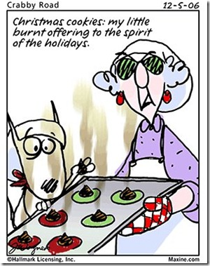 holiday cookies cartoon