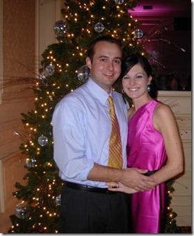 chris & heather christmas 2008
