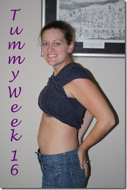Tummy Week 16