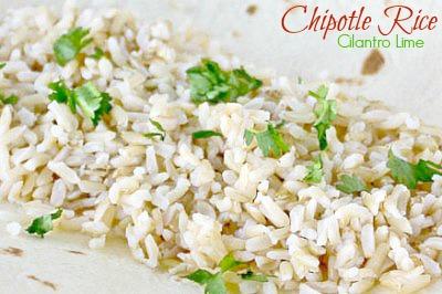 chipotle rice recipe copycat