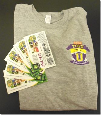 nasoya coupons and shirt