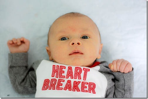 6 week old baby