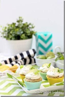 pina colada mojito cupcakes
