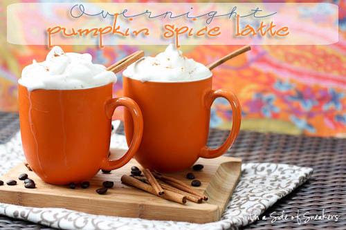 Overnight Pumpkin Spice Latte recipe