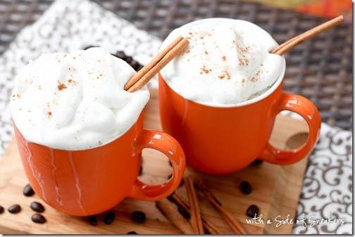 pumpkin spice latte recipes