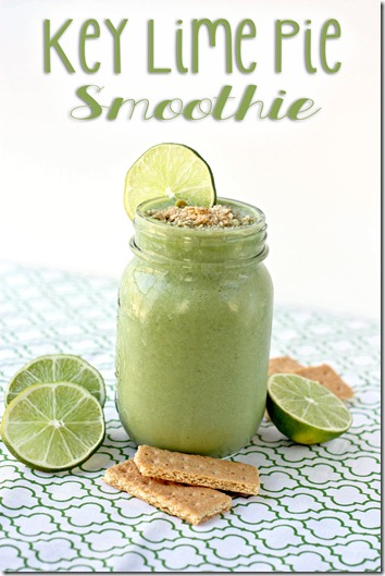 key lime pie smoothie recipe