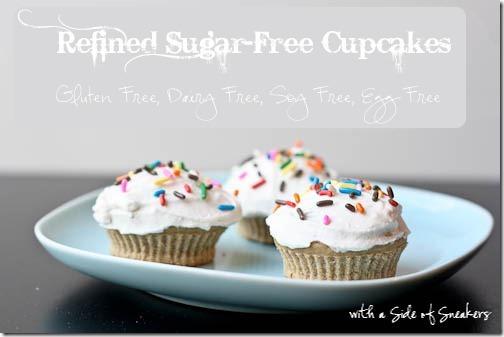 refined sugar free cupcakes