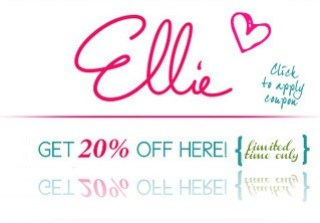 ellie coupon code 20% discount