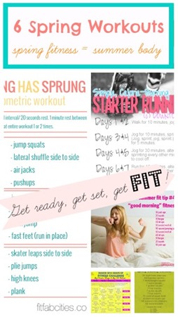spring fitness workouts