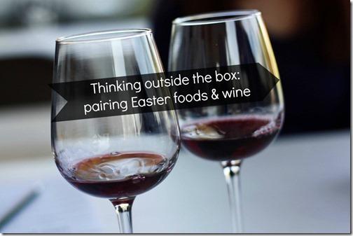 easter foods & wine