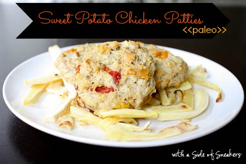 sweet potato chicken patties