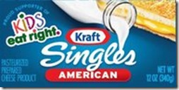 kraft singles kids eat right