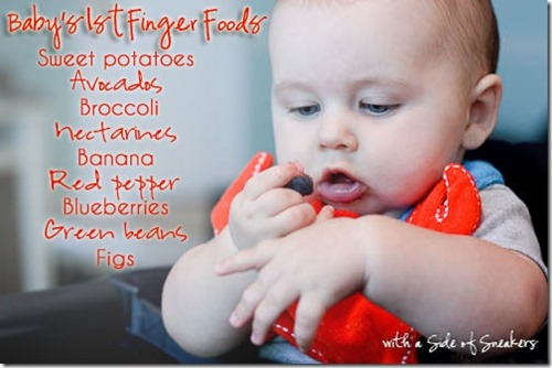 babys-first-finger-foods baby led weaning