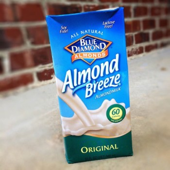 dairy free almond milk