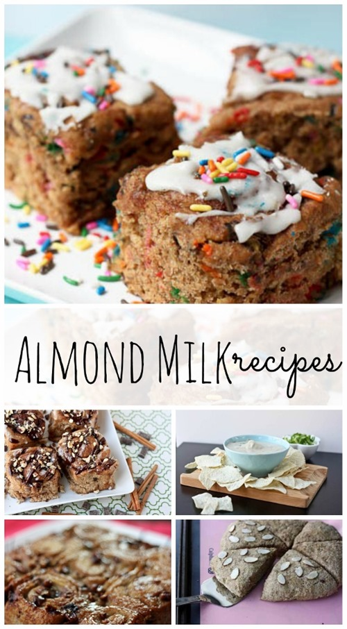 almond milk recipes