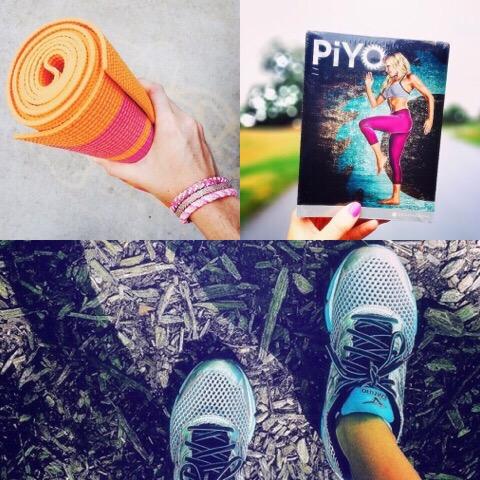 piyo and  yoga