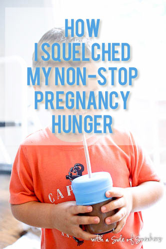 how i squelched my non stop pregnancy hunger
