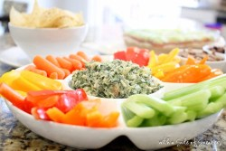 easy spinach dip