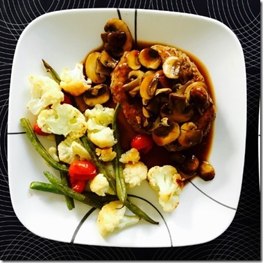 healthy salsibury turkey