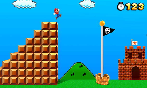 Image result for mario goal pole
