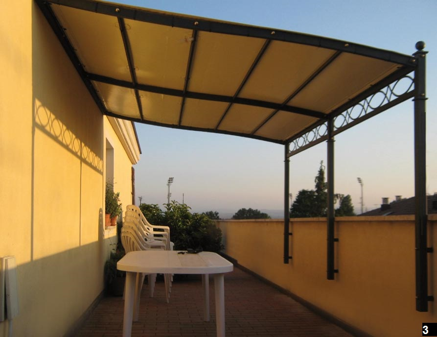 Pergole per balconi e terrazzi a Modena e Bologna  Arredo
