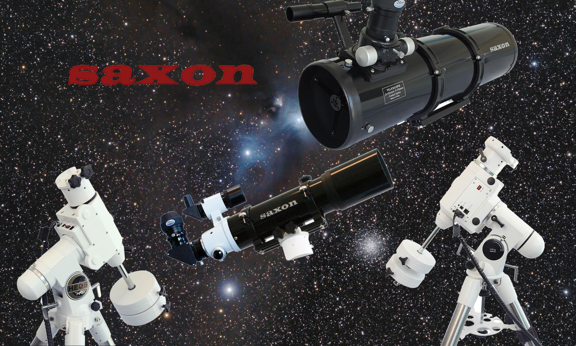 Saxon Telescopes and Mounts