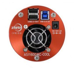 ASI1600 Cooled Connectors