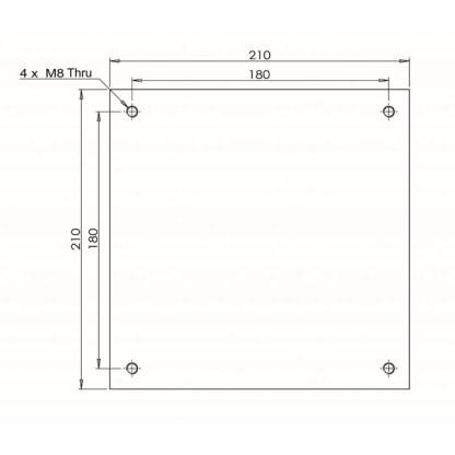 ECM120EC2 Plate Drawing