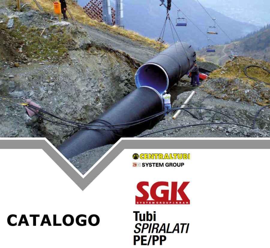 catalogo Tubi spiralati grande diametro in PE/PP Siderghisa CTU -SGK