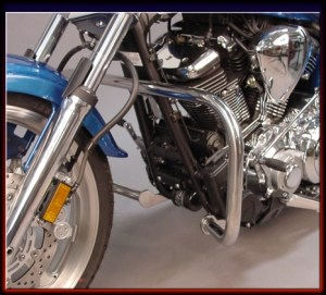 Yamaha Raider Engine Guards