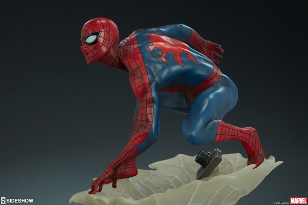 Marvel Spider-man Statue Sideshow Collectibles