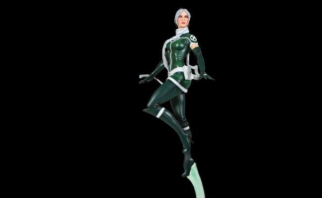 Marvel Rogue Modern Polystone Statue By Bowen Designs