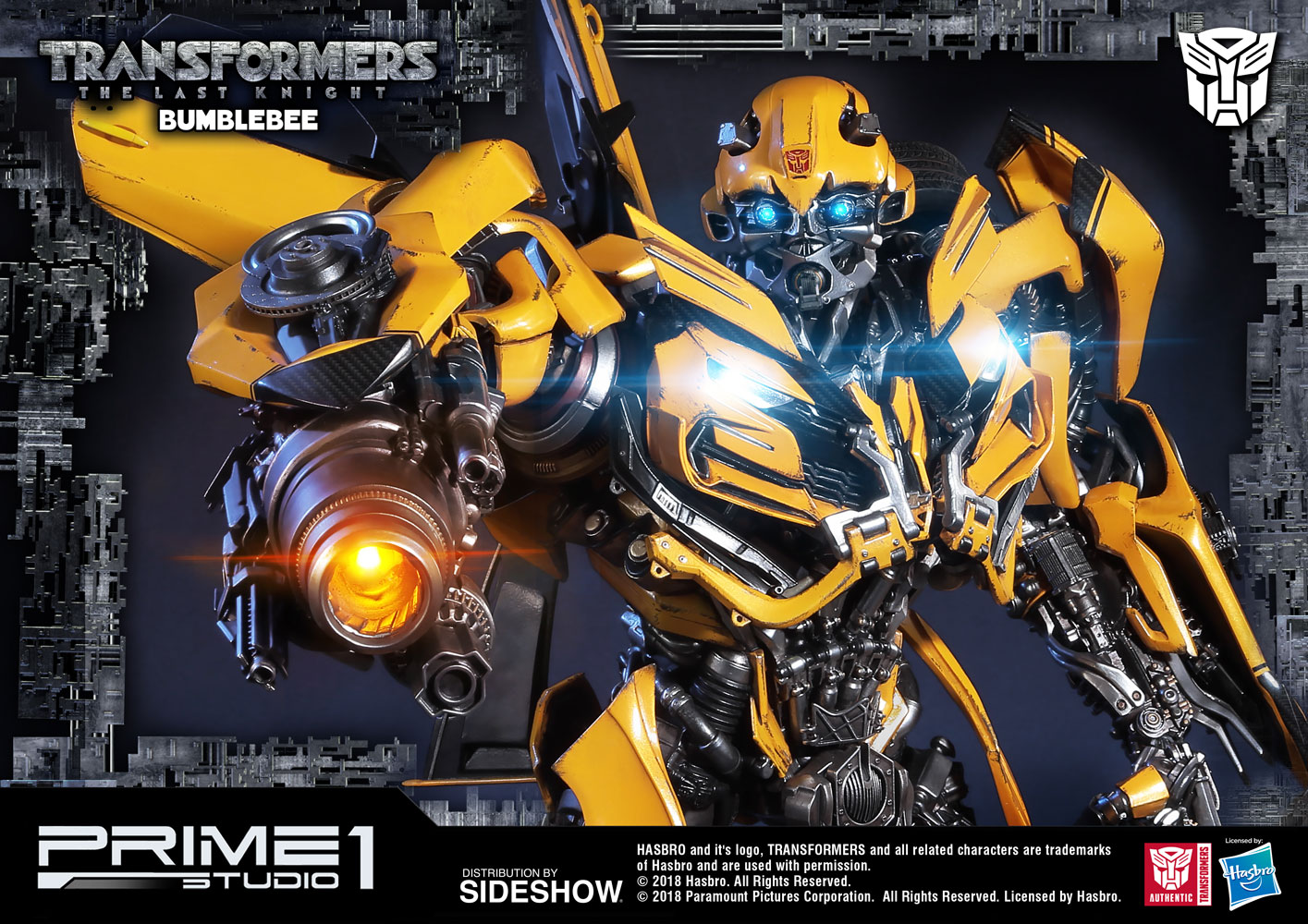 transformers bumblebee statue by