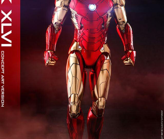 Iron Man Mark Xlvi Concept Art Version Exclusive Edition Prototype Shown