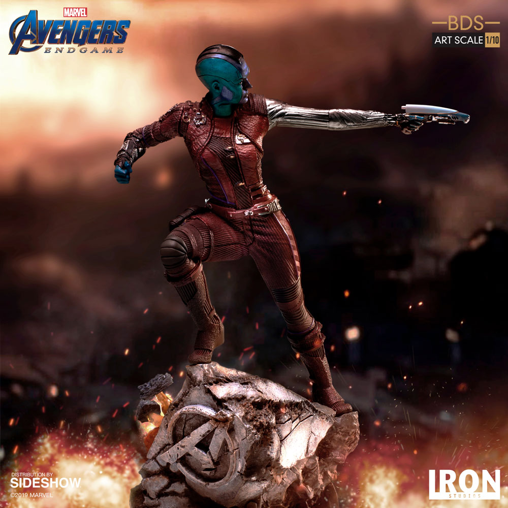 Avengers Animated Wallpaper Nebula Art Scale Statue Sideshow Collectibles