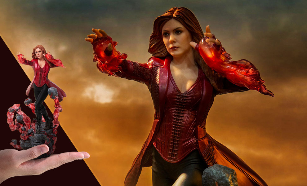 scarlet witch art scale