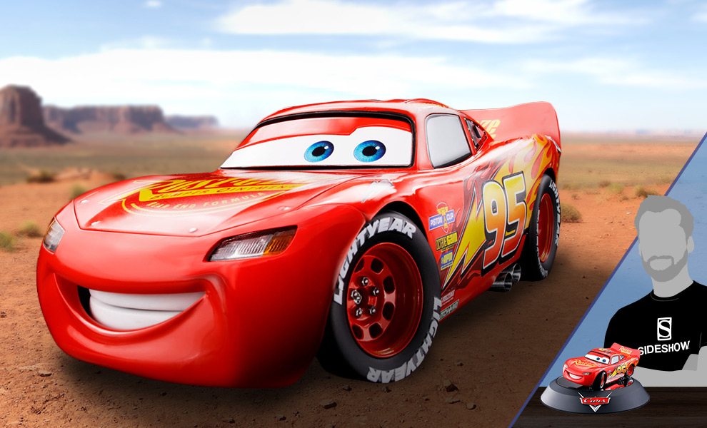 Lightning Mcqueen Diecast Model Chogokin Sideshow Collectibles
