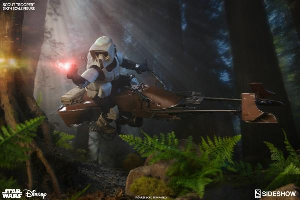 Star Wars Scout Trooper Sixth Scale Figure Sideshow