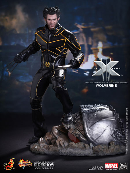 Marvel Wolverine Sixth Scale Figure by Hot Toys Sideshow
