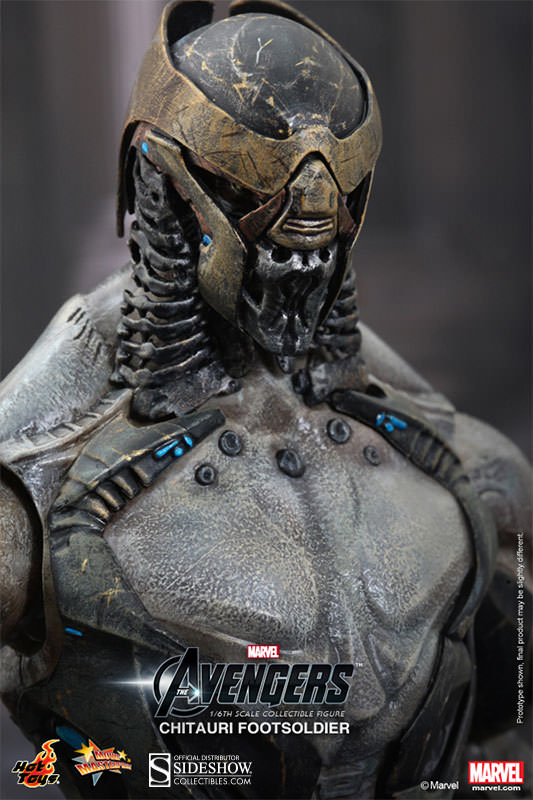 Chitauri Footsoldier  Sideshow Collectibles