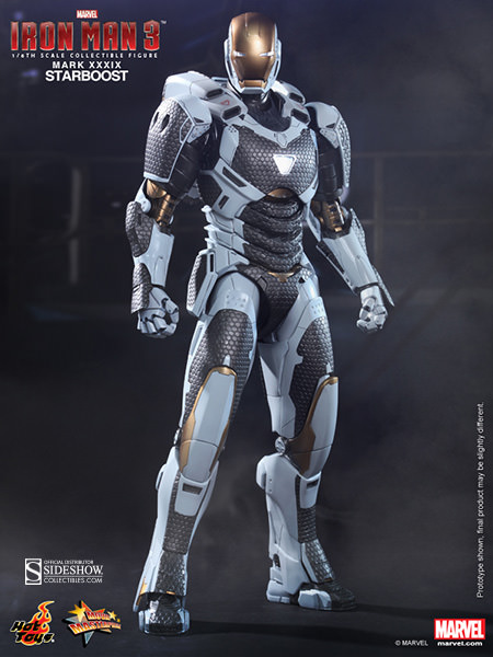 Product Announcement Hot Toys Iron Man XXXIX Star Boost